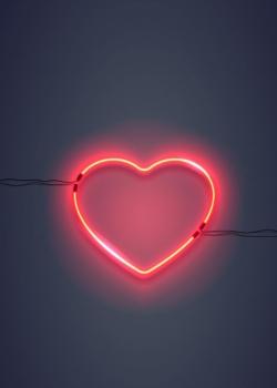 唯美情人节创意爱心图片素材